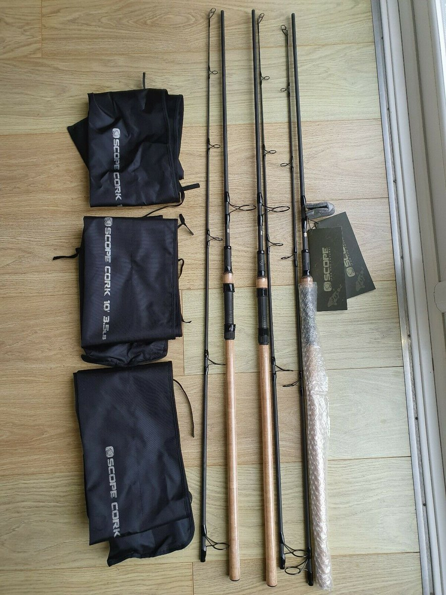 Ad - Nash Scope Cork 10ft 3.5lbs x3 On eBay here -->> https://t.co/hrQA9qjJOP  #carpfishing ht