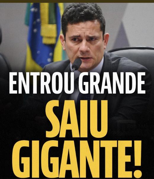 Senhoras e senhores,este é Sérgio Moro #MoroOrgulhoDoBrasil