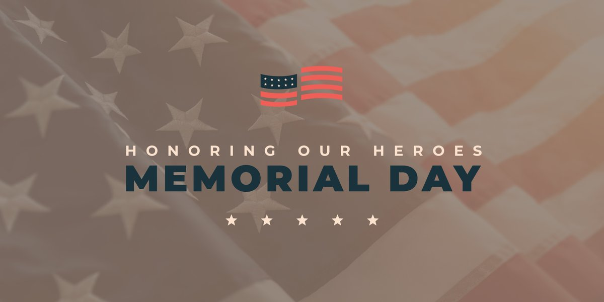 Today, on #MemorialDay, we honor all those who have faithfully served our country and sacrificed their lives defending our freedom, our values, and our families.   We are forever grateful for their bravery and patriotism in protecting the U.S.A.  🇺🇸