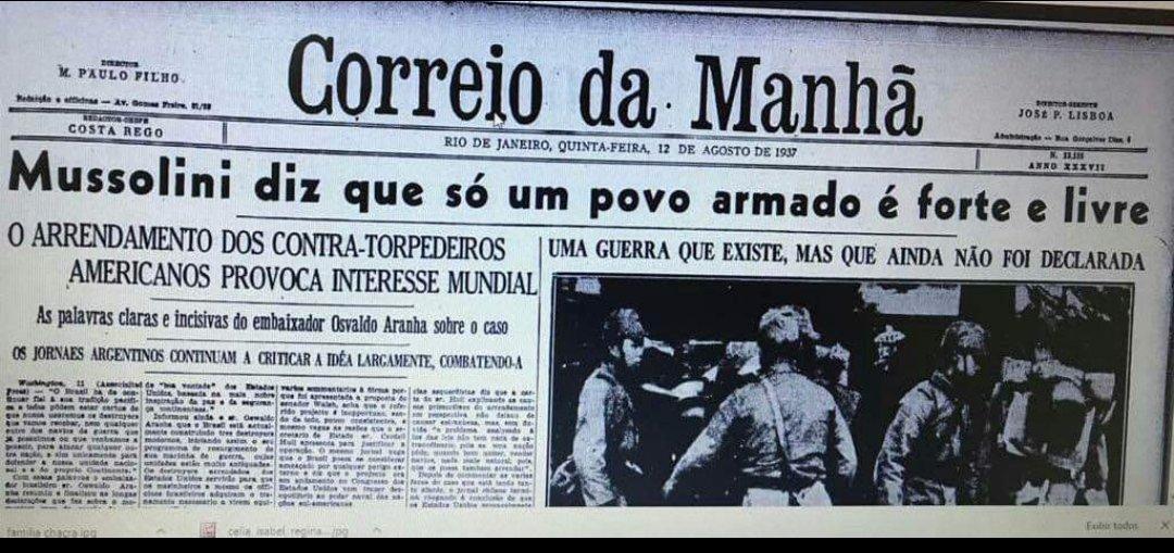 Este é um dos motivos de chamarmos Bolsonaro de fascista. Qualquer semelhança entre ele, Mussolini e Hitler não é mera coincidência.