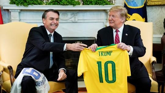 Blog da @SandraCoh:  Ao barrar brasileiros, Trump mostra que não poupa nem mesmo aliados  #G1