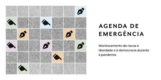 Estamos oficialmente no ar!   E para dar início aos trabalhos, lançamos a plataforma online Agenda de Emergência, ferramenta que monitora riscos à liberdade e à democracia no contexto pandêmico brasileiro. Acesse:   #AgendaDeEmergencia