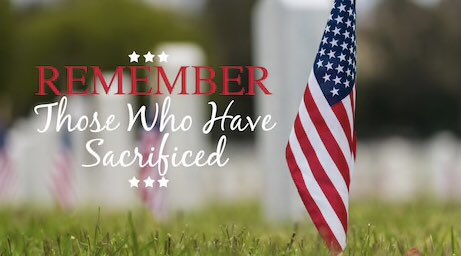 On this Memorial Day, we stop to pay tribute to the brave men and women who made the ultimate sacrifice for our freedoms. Thank you to all those who served our great nation and their families.