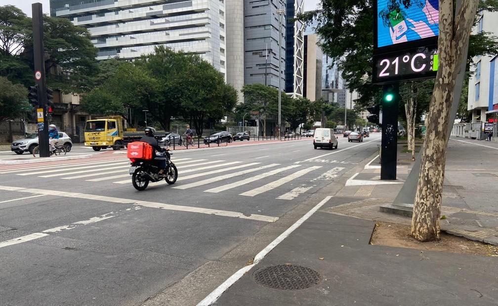 #Feriadão - Isolamento social na cidade de São Paulo subiu em média 2 pontos percentuais com antecipação de feriados municipais  #G1