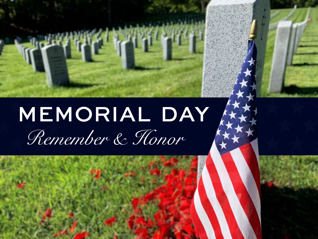 Today, we take time to honor our men and women in the United States armed forces who made the ultimate sacrifice for our country and our world. Your heroic service and dedication will never be forgotten. #MemorialDay