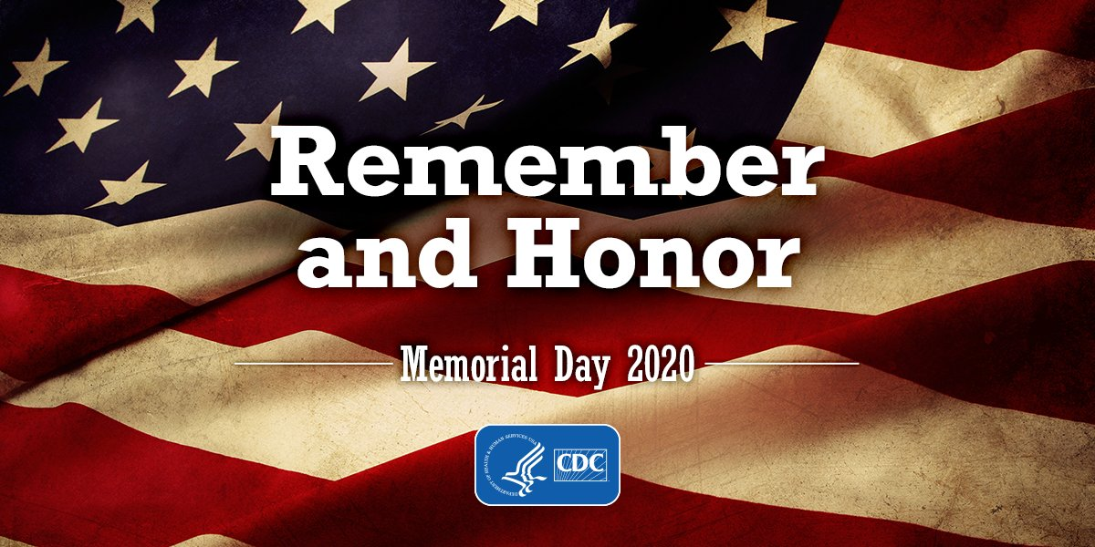 This #MemorialDay, CDC honors and remembers the men and women who gave their lives in service to our country.