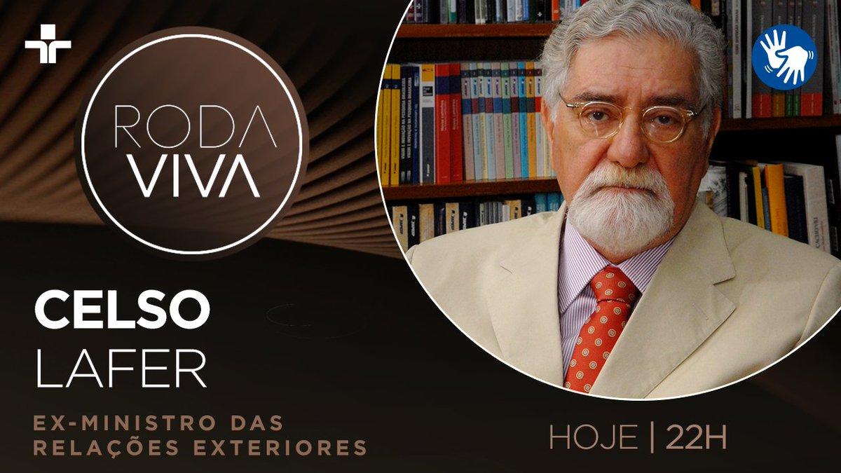 Hoje, o #RodaViva recebe o jurista e ex-ministro das Relações Exteriores Celso Lafer. A atual política externa do Brasil e a crise em tempos de pandemia serão alguns dos temas do programa. É às 22h, na @TVCultura, com apresentação de @veramagalhaes.