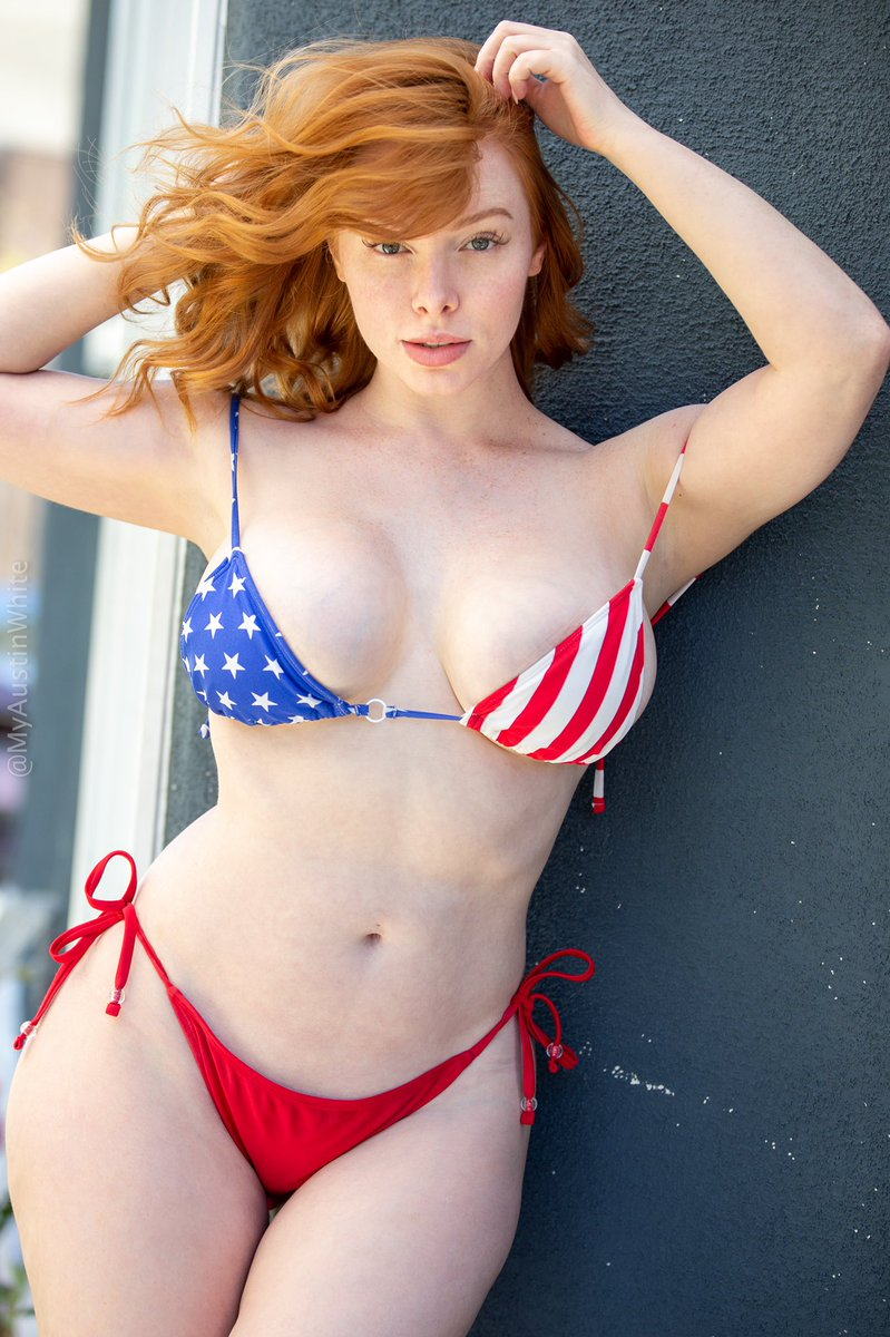 Happy Memorial Day! Thank you to all the amazing men and women who have served to keep us safe! 🇺🇸  . Full set on my website! Link in bio ❤️ . #memorialdayweekend #memorialday #memorialdaysale #stayhome #staysafe #redhead #redheads #ginger #gingers #naturalredhead #naturalredhair