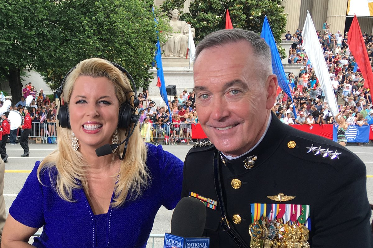 Always so honored to host the National #MemorialDay Parade Telecast through the years saluting our courageous #Military. Thinking of our heroes who truly make #America the land of the free because of the brave! #NeverForget #MemorialDay2020 @AVCupdate @SaluteHeroes #NMDParade #US
