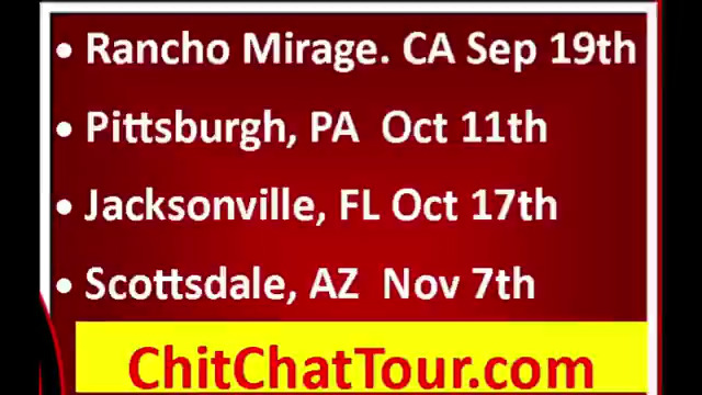 CHIT CHAT TOUR 2020 NEW SCHEDULE