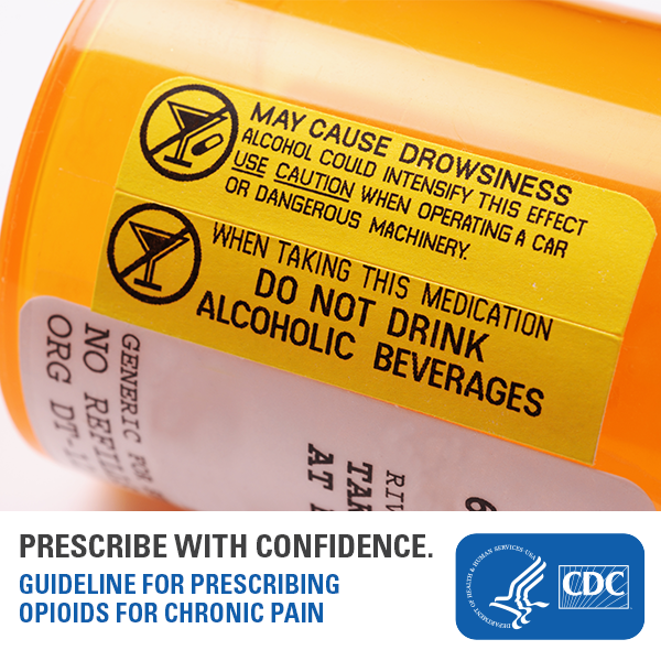 Healthcare providers: It's important to screen and intervene for reducing #alcohol use before prescribing #opioids. Learn why with this #CDC resource: