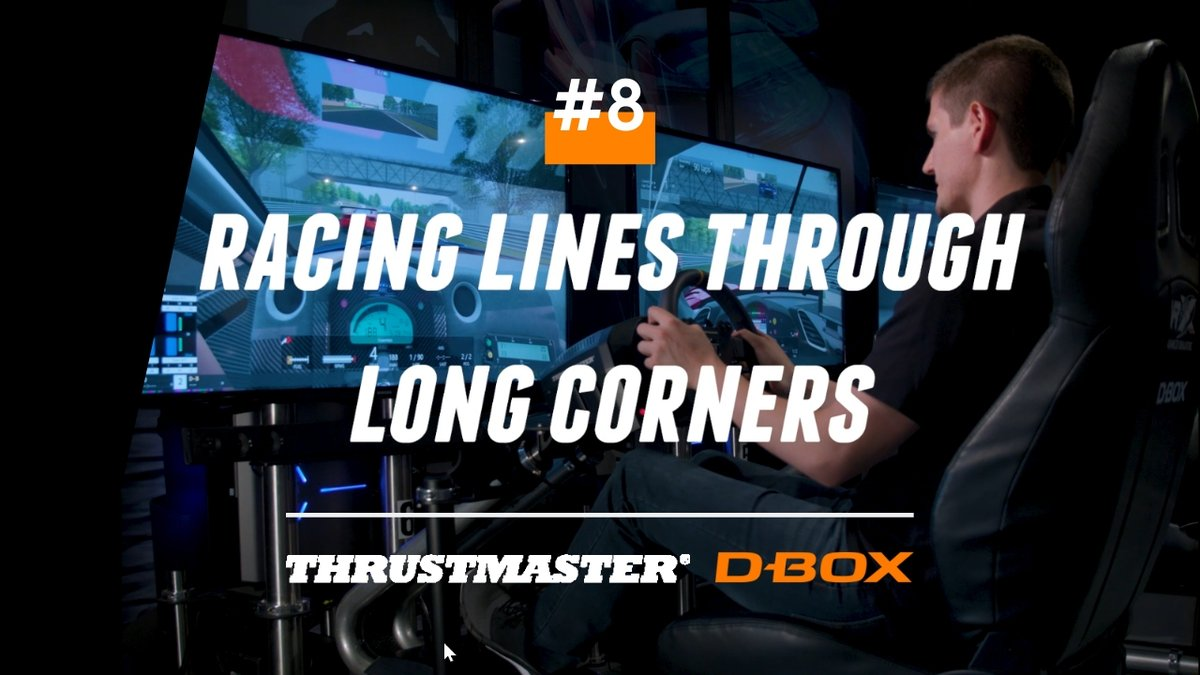 test Twitter Media - Handling a fast corner properly is vital when trying to set a fast lap time. See how the pros at #Thrustmaster do it in this week's video!  ➡️https://t.co/0O5vmoHYIq //  Voyez comment gérer correctement un virage rapide afin d'améliorer votre temps!  ➡️https://t.co/0O5vmoHYIq https://t.co/foq2HO7F8T