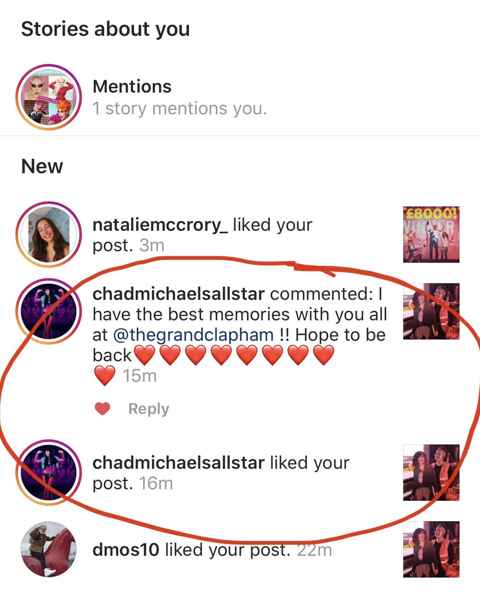 OMG 😱😍😘! @ChadMichaels1 WE LOVE YOU! Thank you for helping us #savethegrand xxx  To donate & share: 🙏  ❤️