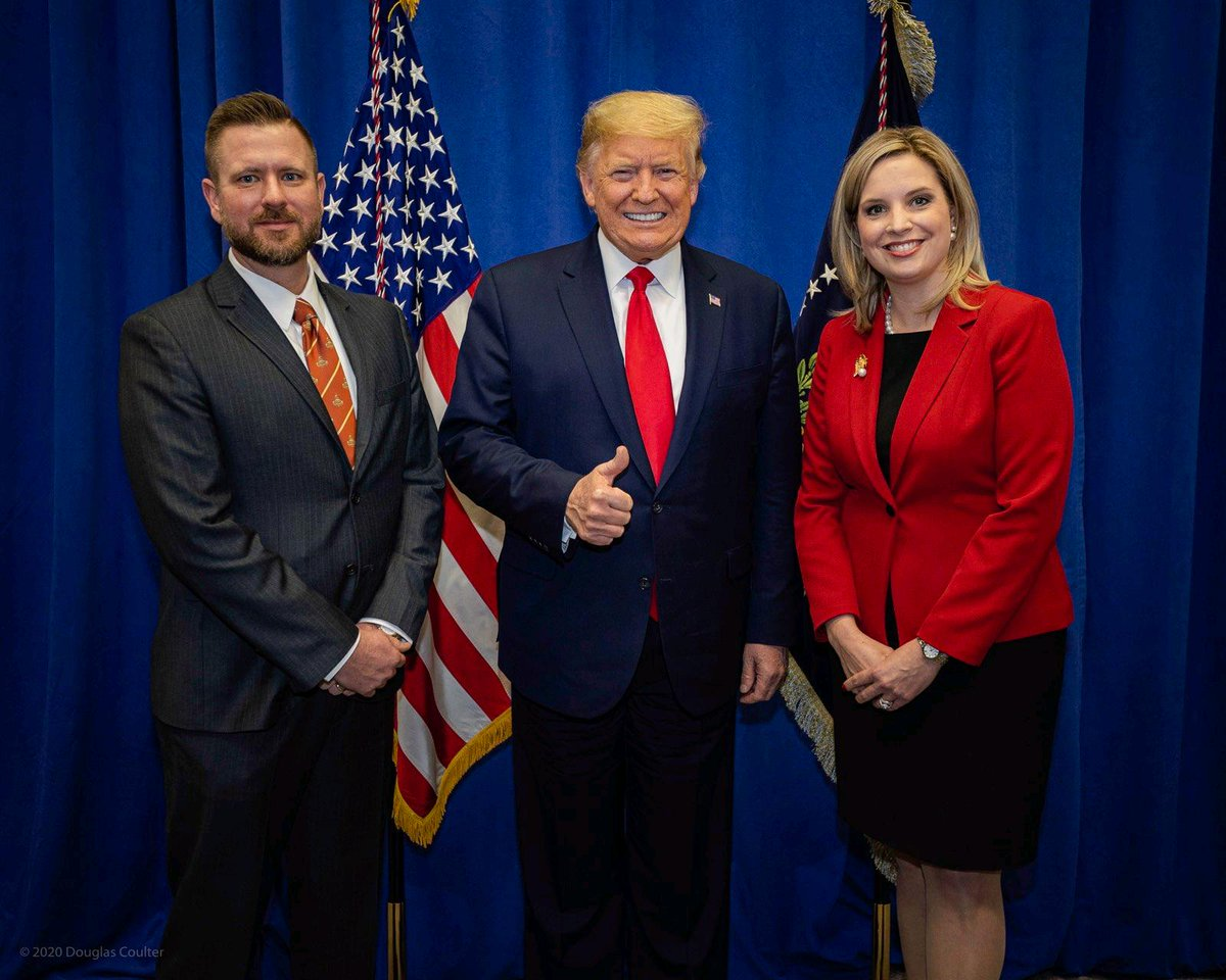 .  @realDonaldTrump endorsed @hinsonashley to be #IA01  next Congresswoman.  Will you join our campaign and help her win big?    #VoteASHLEY