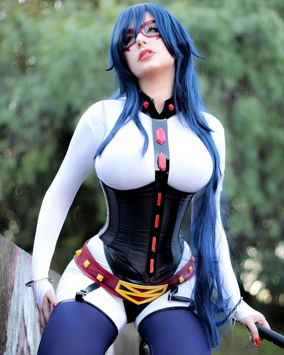 💘💘 Midnight - #myheroacademia #midnight #cosplay   Cosplayer: @GiuHellsing -