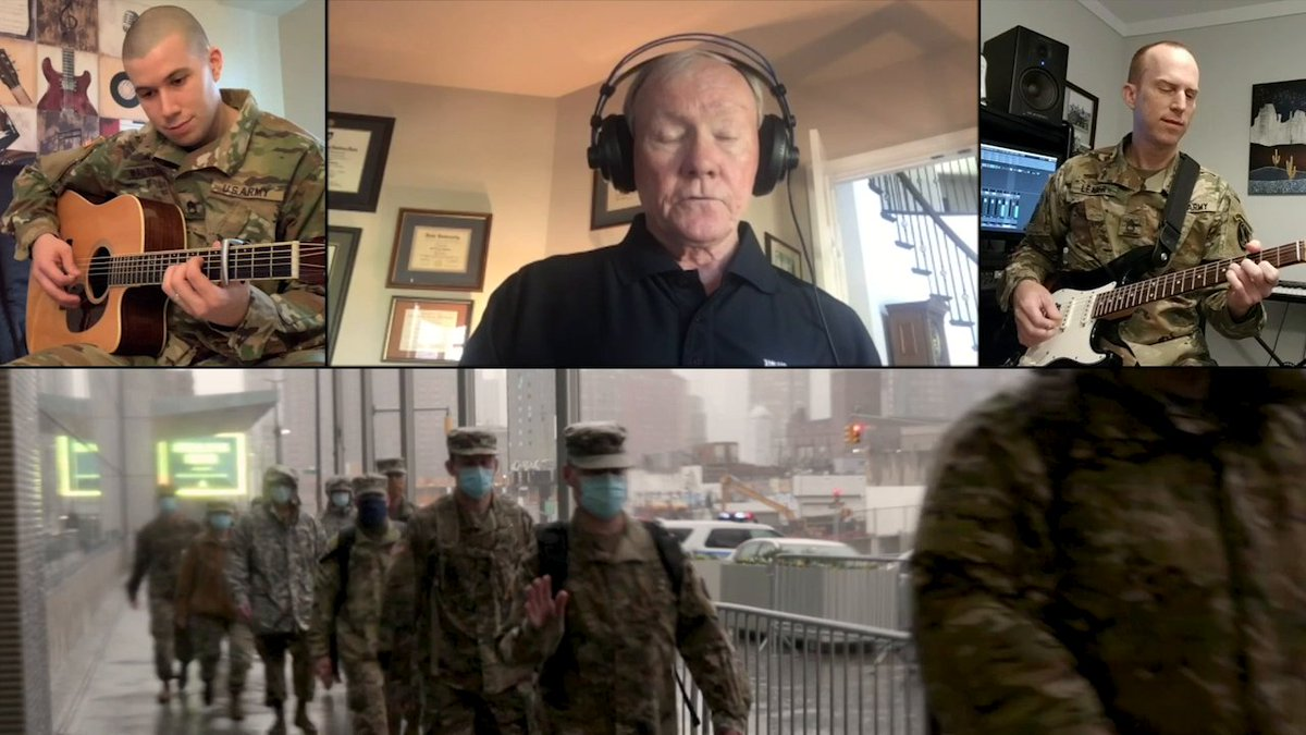 America 2020 – We Will Persevere   Former Army Chief of Staff Gen.(R) Martin Dempsey and The United States Army Band sing a message of hope and unity.  #InThisTogether #ArmyFamily