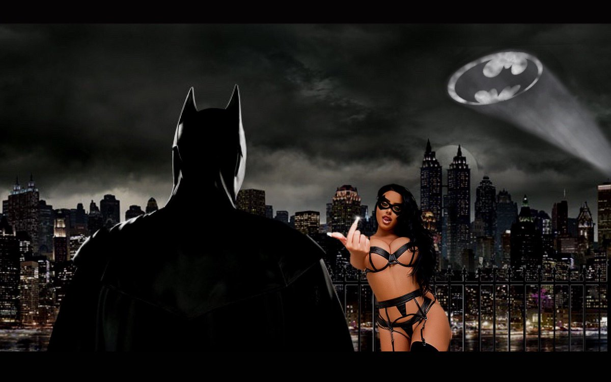 Batman's temptation @AbiRatchford what's your favourite superhero ?