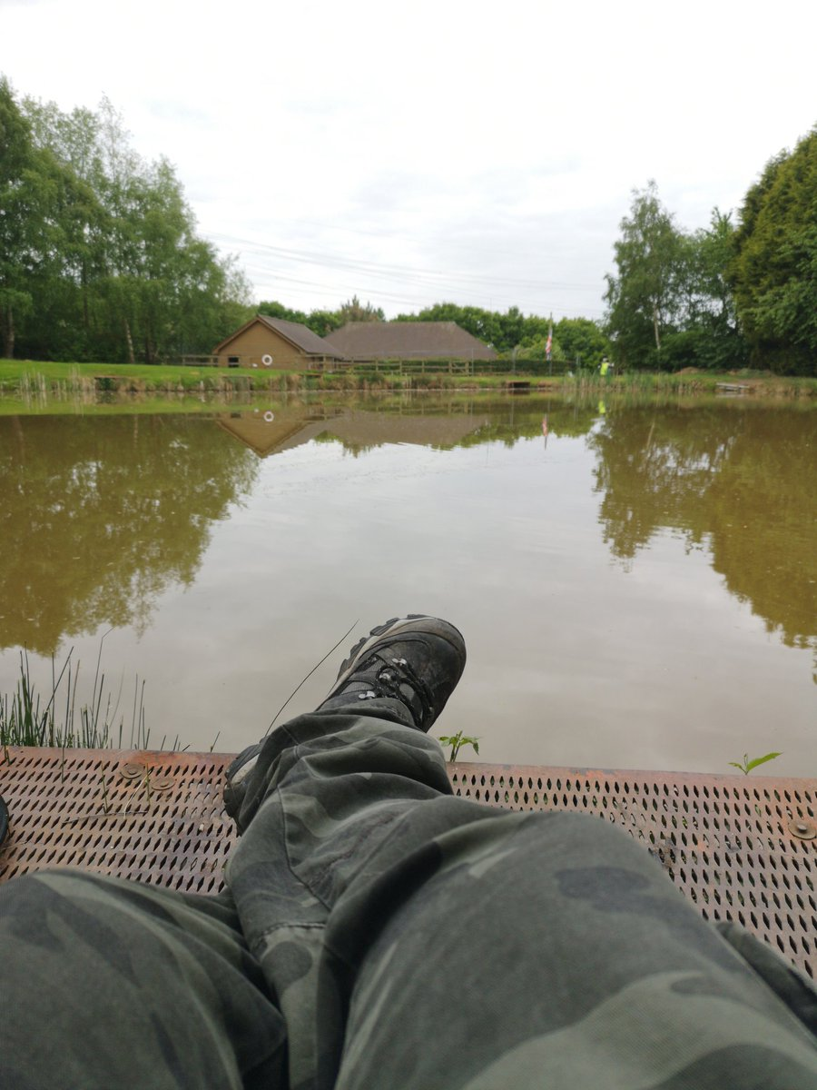🎣👌 Annnd relax 😊 #carpfishing #foxhills #<b>Tightlines</b> https://t.co/7NDdtCDLLs
