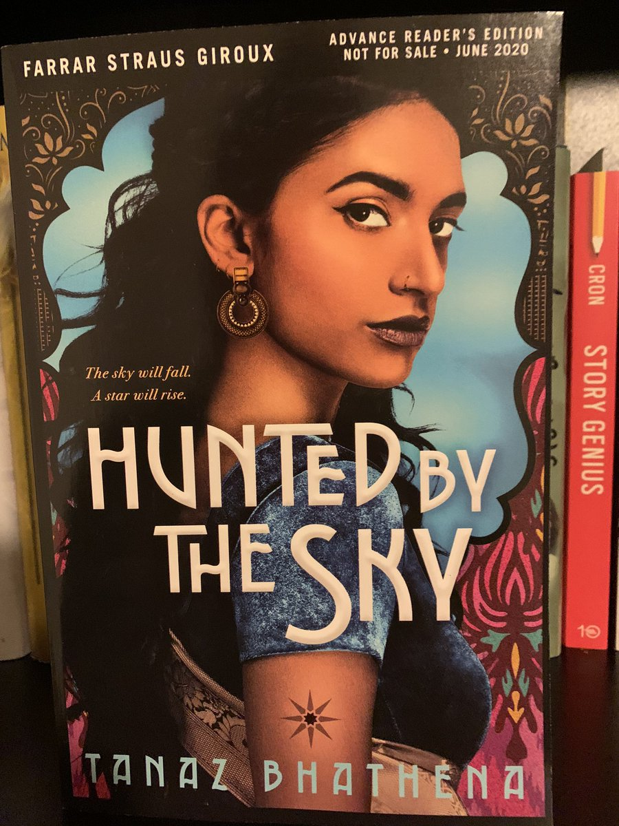 🚨 ARC GIVEAWAY 🚨  I have an extra arc of HUNTED BY THE STARS by Tanaz Bhathena. Like/RT/Follow! Winner chosen 5/18! #Giveaway #arc