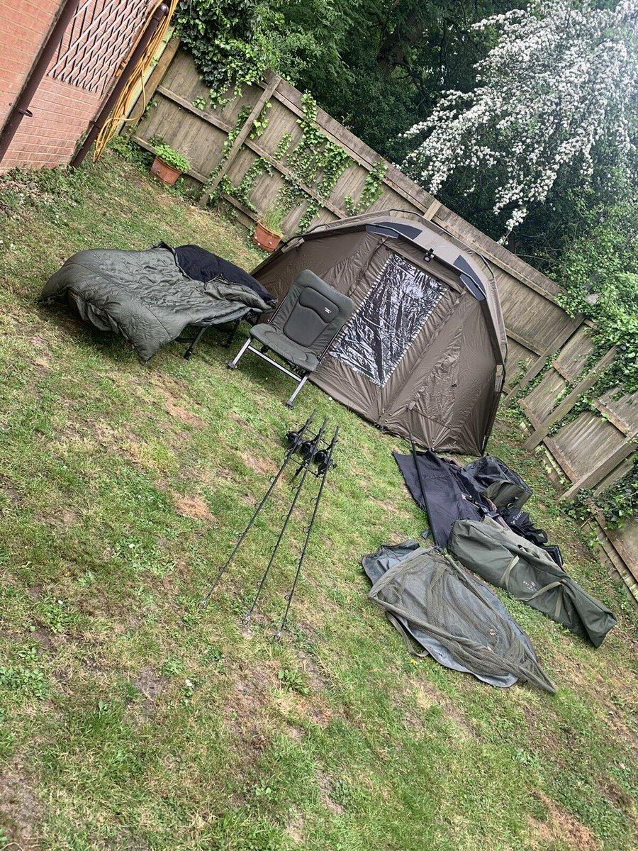 Ad - Complete carp fishing set up On eBay here -->> https://t.co/iRYk0usjbm  #carpfishing http