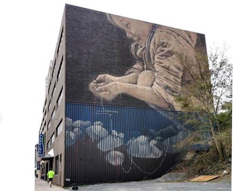 Es una precuela de un muro anterior en Viena en 2018; otro muro sobre el proceso de creatividad, inspirado en la interpretación de Pikola Estes del cuento La Llorona. @radurbanist, gracias por iniciar este mural y por apoyar todo el camino, eres el mejor. https://t.co/tSwUOR1xNf