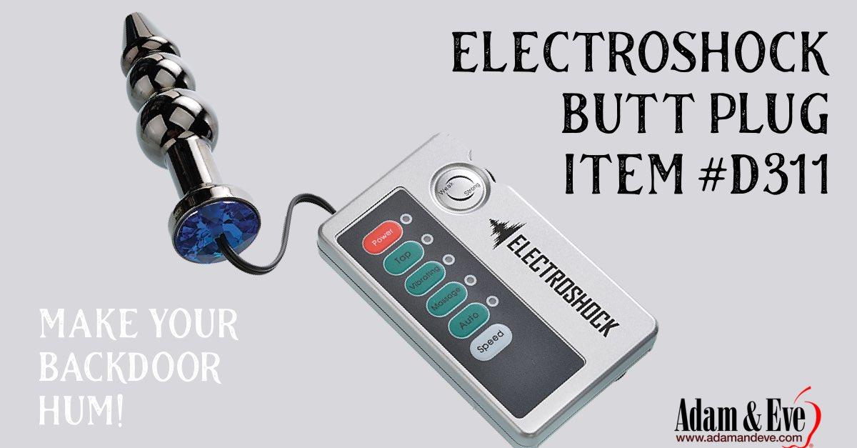 Electroshock Butt Plug item #D311 #therealadamandeve #adamandeve
