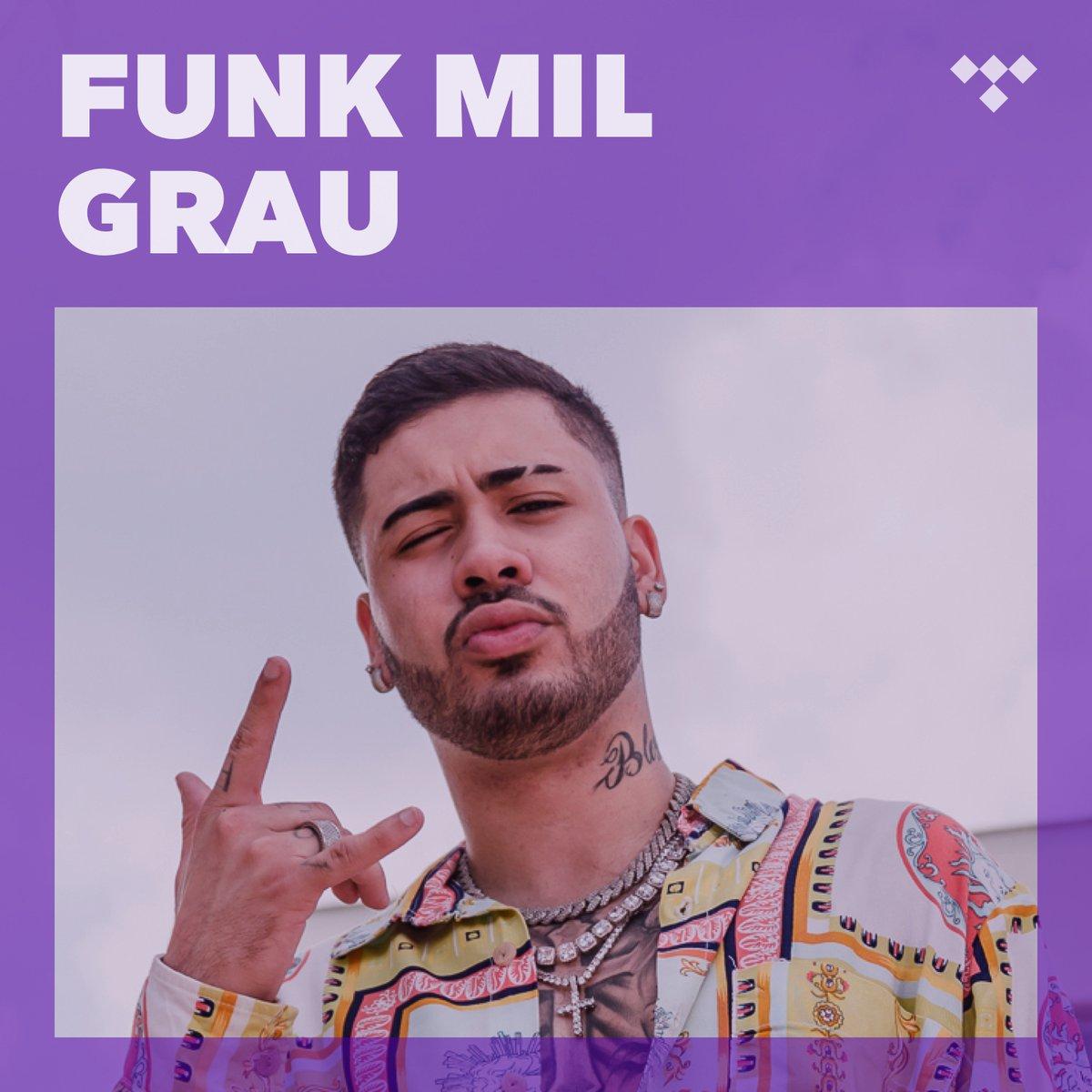 "Bebês, vem ouvir meu hit #TeGusta no @Tidal_Brasil, somos capa da playlist ""Funk Mil Grau"""