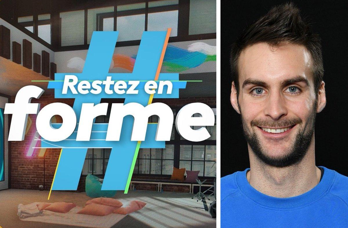 🔥🔥🔥 #restezenforme avec une séance d'abdos & stretching demain à partir de 10h45 sur @France3tv. @LucileWoodward & Amadou N'Diaye seront en duplex avec @belaudvalentin (pentathlon moderne)