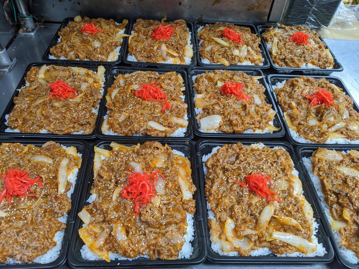 ベーコン エビチリ 大盛りデカ盛りキロベーコン丼 やつかよ 厚切りに関連した画像-08