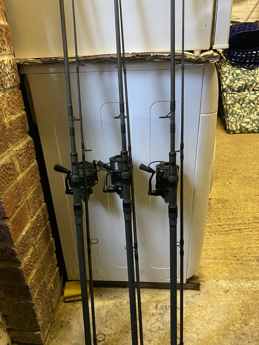 Ad - Nash Scope 10ft 3.5lb X 3 And 3 X Nash GT6000 Reels On eBay here -->> https://t.co/ZvWhdd