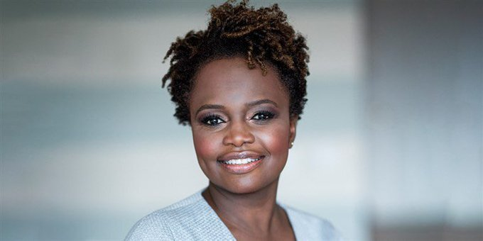 We are so proud of our brilliant colleague @K_JeanPierre, who's taking a leave of absence from MoveOn to join the senior leadership of the Biden campaign. A great sign about the direction of the campaign. Congrats Karine!