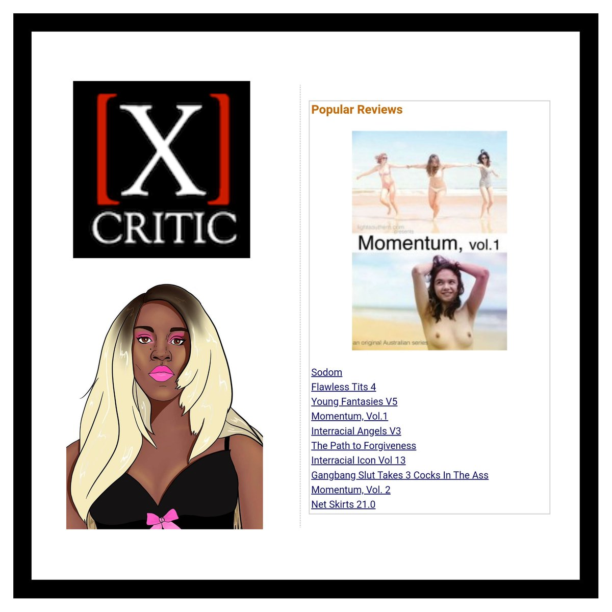 Oh wow! My first two film reviews are in the top 10 most popular at @xcritic?  Amazing! I'm grateful. Visit the site, and check this link for what else I have to come: