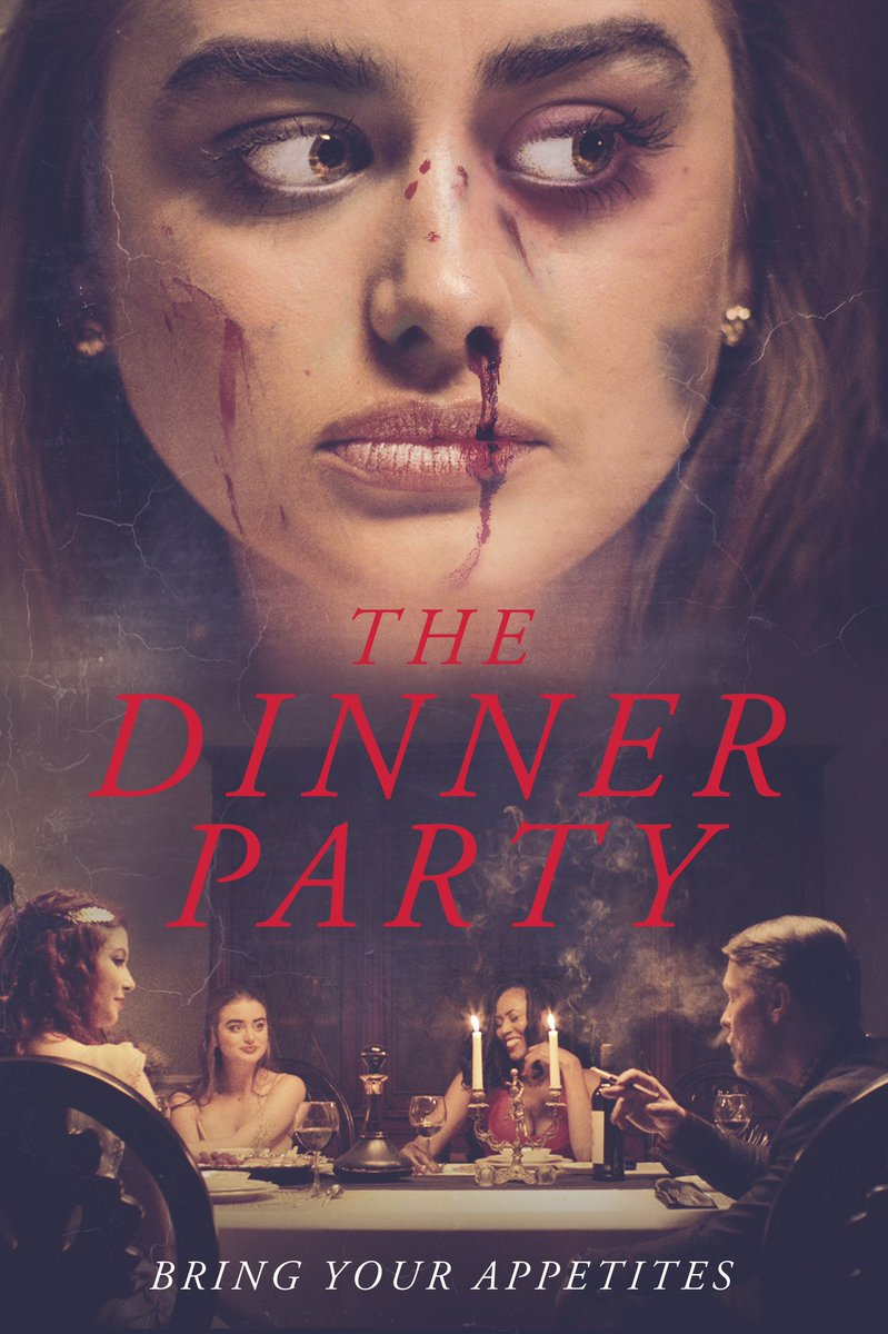 In theaters June 5, On Demand and DVD June 9, the wickedest horror film of 2020 @miles_doleac's THE DINNER PARTY! @SirJeremyLondon @BillSageActor @sawandiwilson
