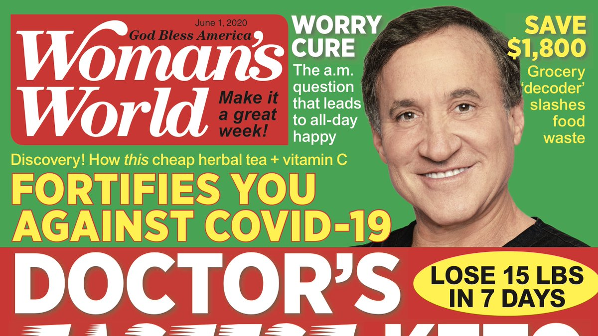 Our new issue is on sale now! ✨Don't miss @DrDubrow's breakthrough plan that turbocharges fat burning to drop pounds fast—along with our expert tricks to slash negativity & spark joy and MDs best defenses against COVID-19. 💛 Get free home delivery here—>