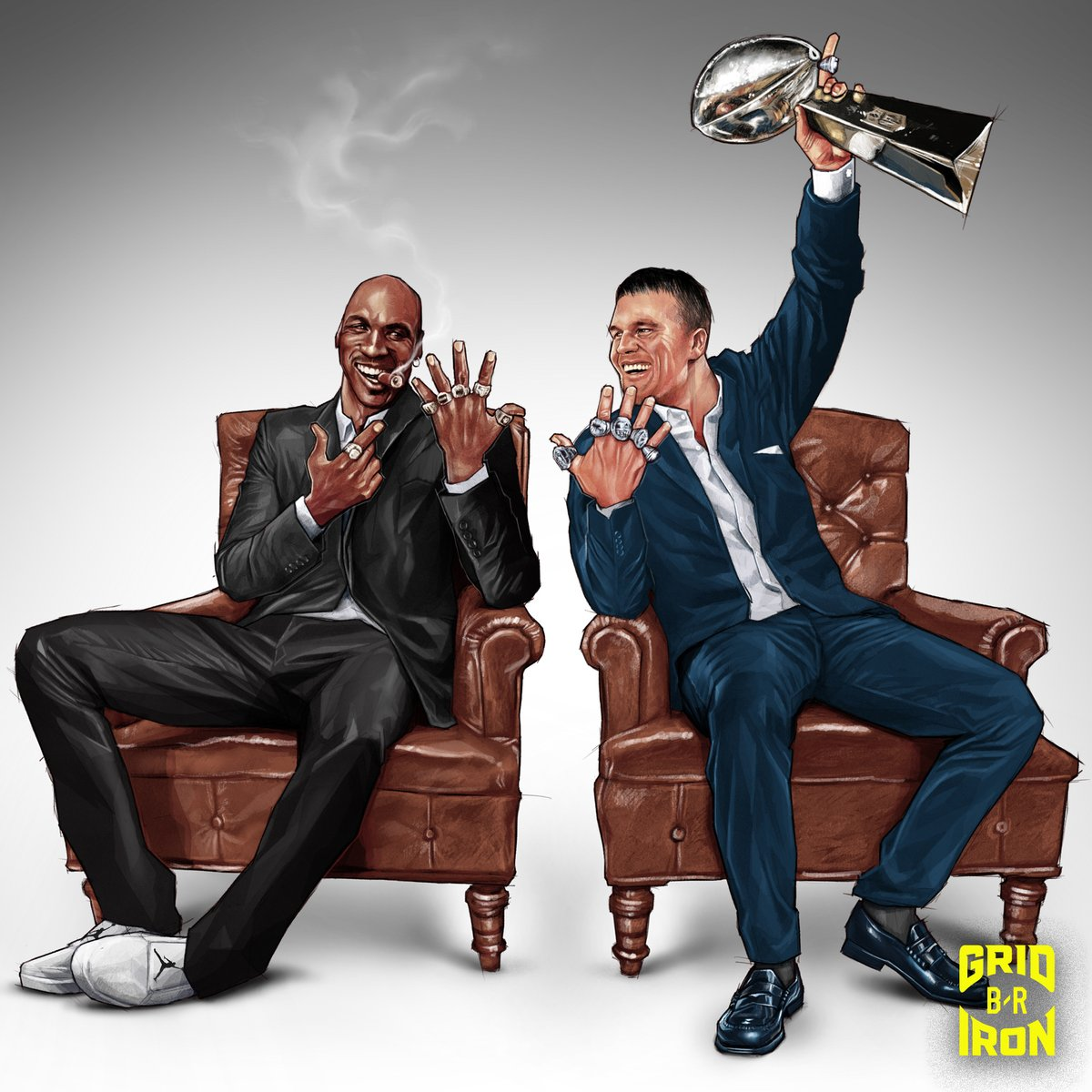 """Following Michael Jordan's 10-part doc, Tom Brady is doing a nine-part series called """"Man in the Arena"""""""