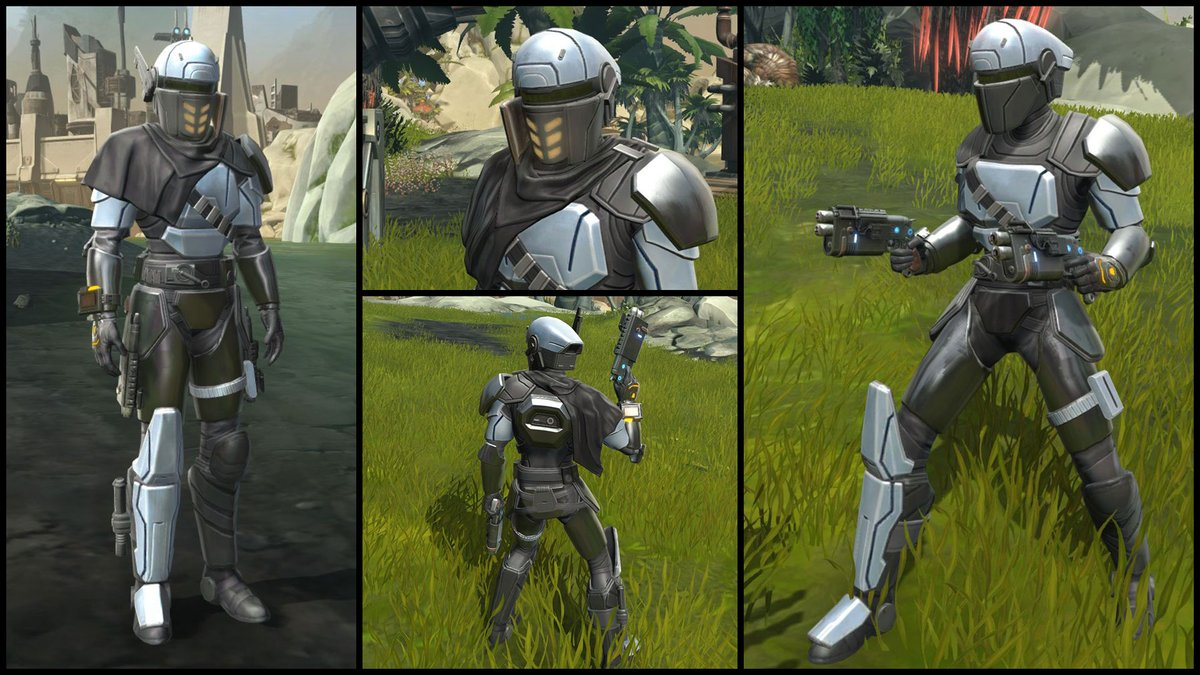 test Twitter Media - Check out one of the latest additions to the Cartel Market: the Cyber Agent's Armor Set. This set comes with two different chest pieces and an adaptive helmet for any combat situation! https://t.co/HXudLCKnWq