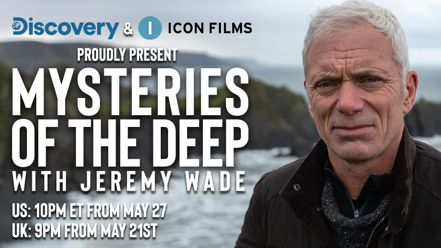 Delve into the depths of the watery underworld with #JeremyWade in the UK #premiere of #MysteriesoftheDeep  #tonight 9PM on @DiscoveryUK #newseries #MOTD #NotFootball https://t.co/iZW4R1tzpr