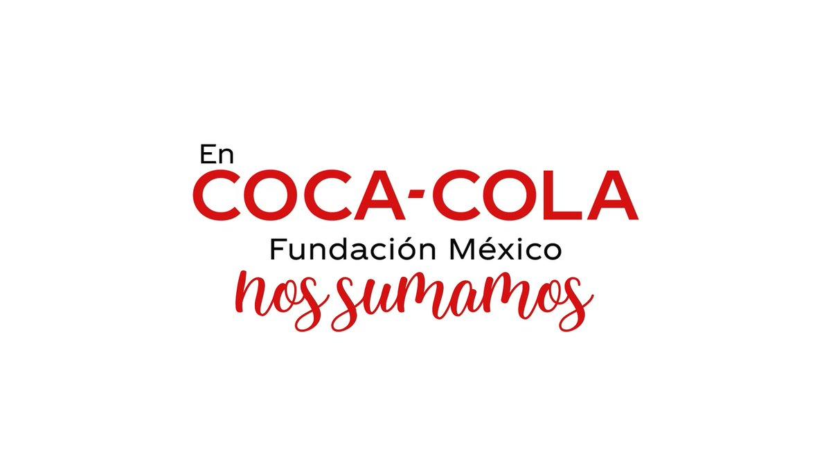 Sumando esfuerzos podemos superarlo todo, por eso en #FundaciónCocaCola nos unimos con @CruzRoja_MX donando $1 millón de dólares para la prevención y atención del Covid-19 en nuestro país. #HagamosEstoJuntos