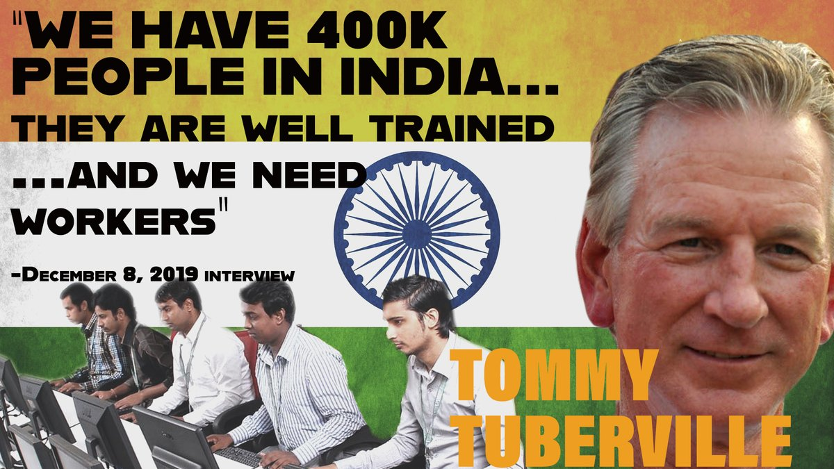 A wag put this together, quoting @ttuberville in December to the effect that we need to import hundreds of thousands more people, specifically from India (national origins quotas, anyone?). Is this really who should represent one of the nation's most conservative states? #Alsen