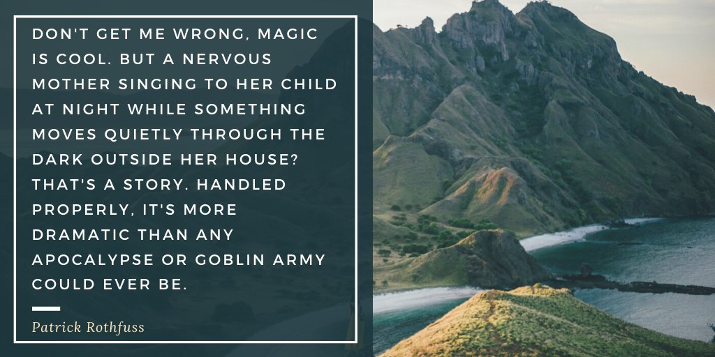 I think we've all felt the disappointment when we something's so focused on how the #villain can vaporise an entire city with their #magic (or how BIG the #Space Laser is), that it forgets to emotionally connect us to the spectacle. #FridayFantasy #WritingCommunity #fantasyauthor