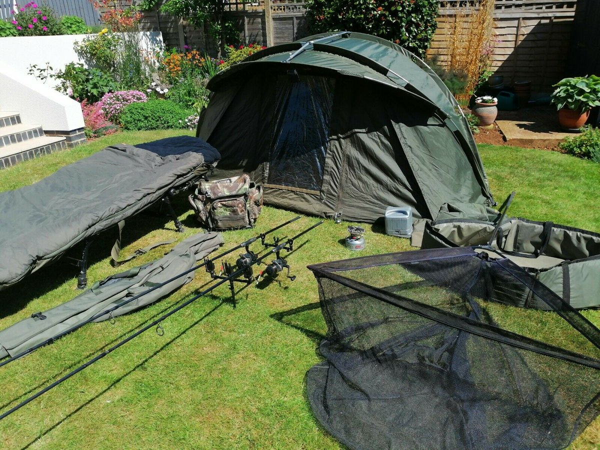 Ad - Carp fishing set up - Trakker, Shimano, JRC, ESP On eBay here -->> https://t.co/VB9Odwy2O