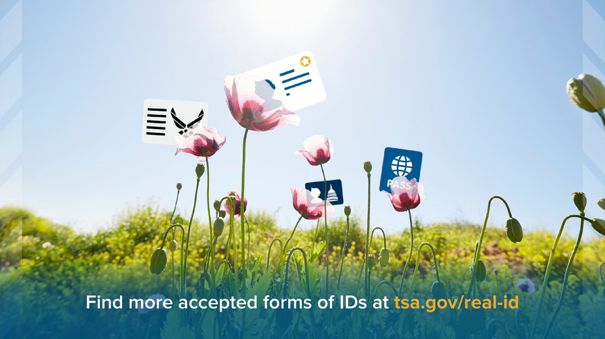 Due to circumstances related to #COVID19 @DHSgov is extending the #RealID enforcement deadline to 10/1/2021. At that time, travelers 18 years or older will need a REAL ID-compliant driver's license, state-issued enhanced driver's license, or acceptable form of ID.