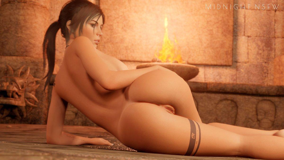 4K without watermark on my Patreon:   Lara Croft model by @wildeerstudio  #nsfw #r34 #rule34 #laracroft #tombraider