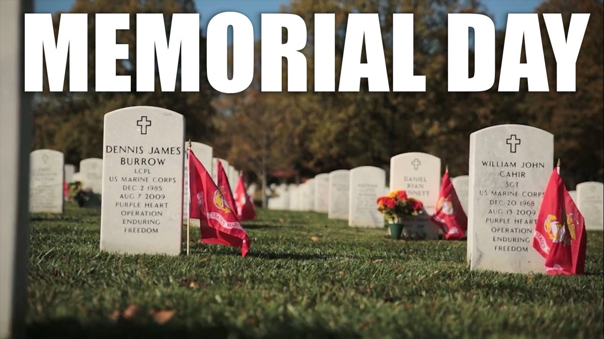 This #MemorialDay, we pause to honor our fallen brothers and sisters. We will always remember their sacrifices for our nation.