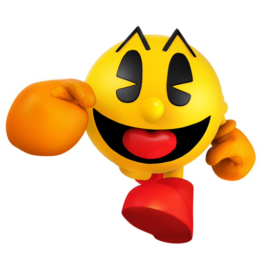 for Pac-Man's 40th annivsary here's a collection of a few renders I've made over the years  Starting with recreations of the Pac-Man World boxart: