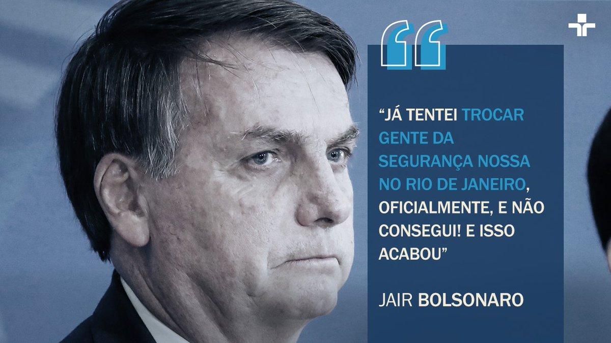 Em vídeo de reunião ministerial divulgado nesta sexta-feira (22), o presidente Jair Bolsonaro fala sobre troca de comando na Polícia Federal no Rio de Janeiro. Leia mais em: