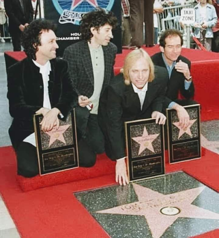 Tom Petty & The Heartbreakers received a star on The Hollywood Walk Of Fame on April 28, 1999.