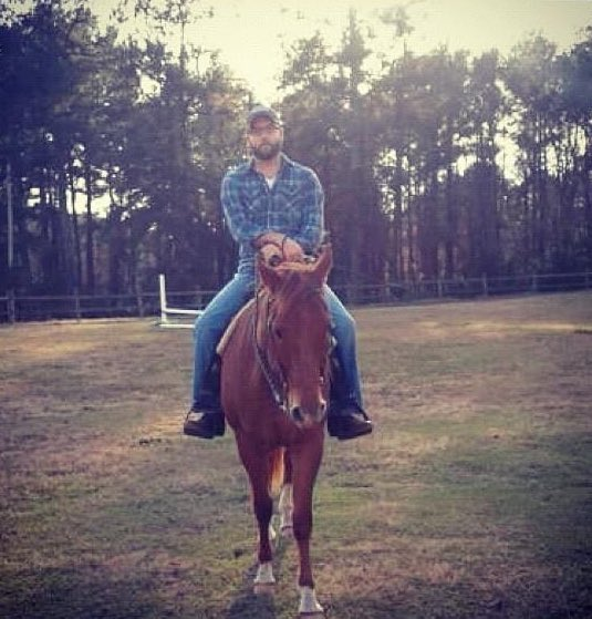 test Twitter Media - Josh Brown on horseback, a story: https://t.co/UD22Y74sqm