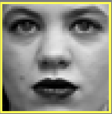 Rosto criado por inteligência artificial para parecer um ser humano em 2014 vs. outro criado em 2018. Isso são 4 anos de avanço em redes neurais. Só pra deixar claro, a mulher da foto da direita não existe, ela foi criada por IA.