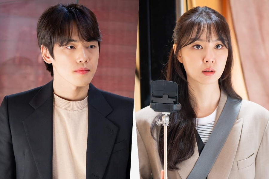 """#CrashLandingOnYou"" Co-Stars Kim Jung Hyun And Seo Ji Hye Reunite As A Couple In ""#DinnerMate"""
